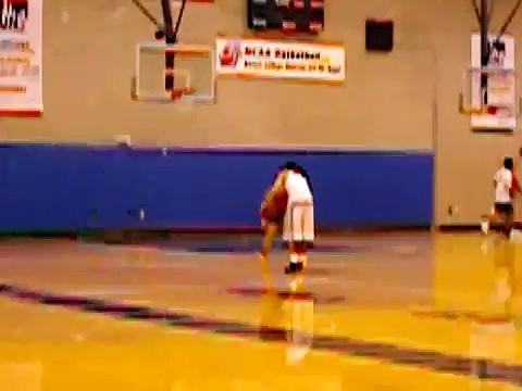 Nadia playin basketball @ Baruch College