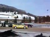 Audi A2 Rally Quattro up a ski slope