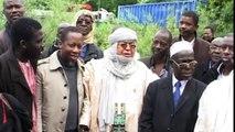 Protestations des Maliens devant le parlement Européen.mov