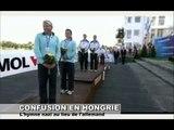 Quand la Hongrie confond l'hymne allemand et l'hymne nazi  guysentv1 24-08-11