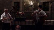Musique du Quercy : Pierre Péguin à la cabrette et Didier Vergne au hautbois