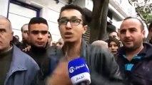 Algerie Un jeune Algerien clash Abdelaziz Bouteflika à Alger