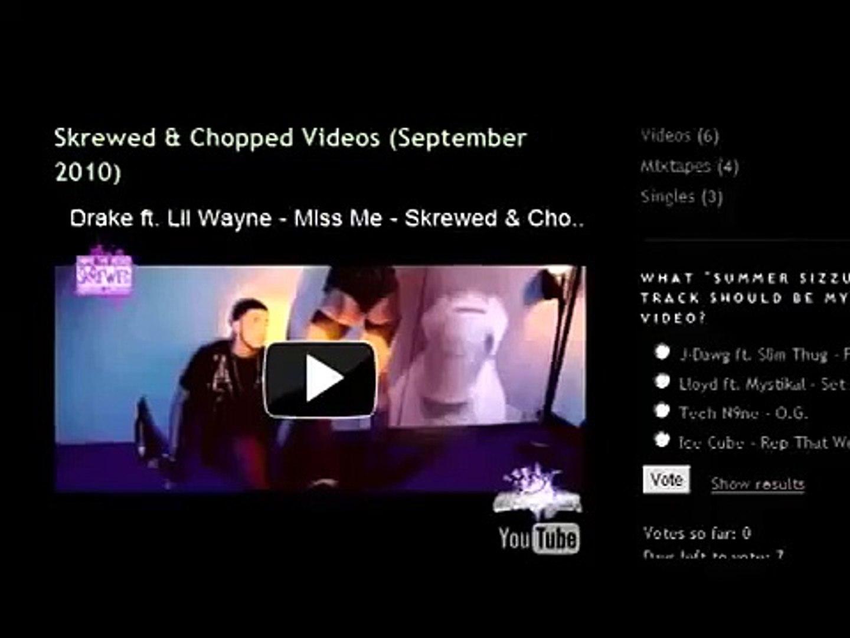 Kid Cudi - Mr  Rager - Skrewed & Chopped by Dj Chops-A-Lot