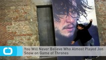 You Will Never Believe Who Almost Played Jon Snow on Game of Thrones