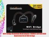 WiFi-Bridge Medialink WLAN Adapter 108Mbit LAN USB HEAD Medi@link HE@D Wifi Bridge