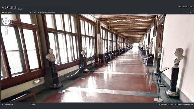 Art Project - Street View of Uffizi Gallery