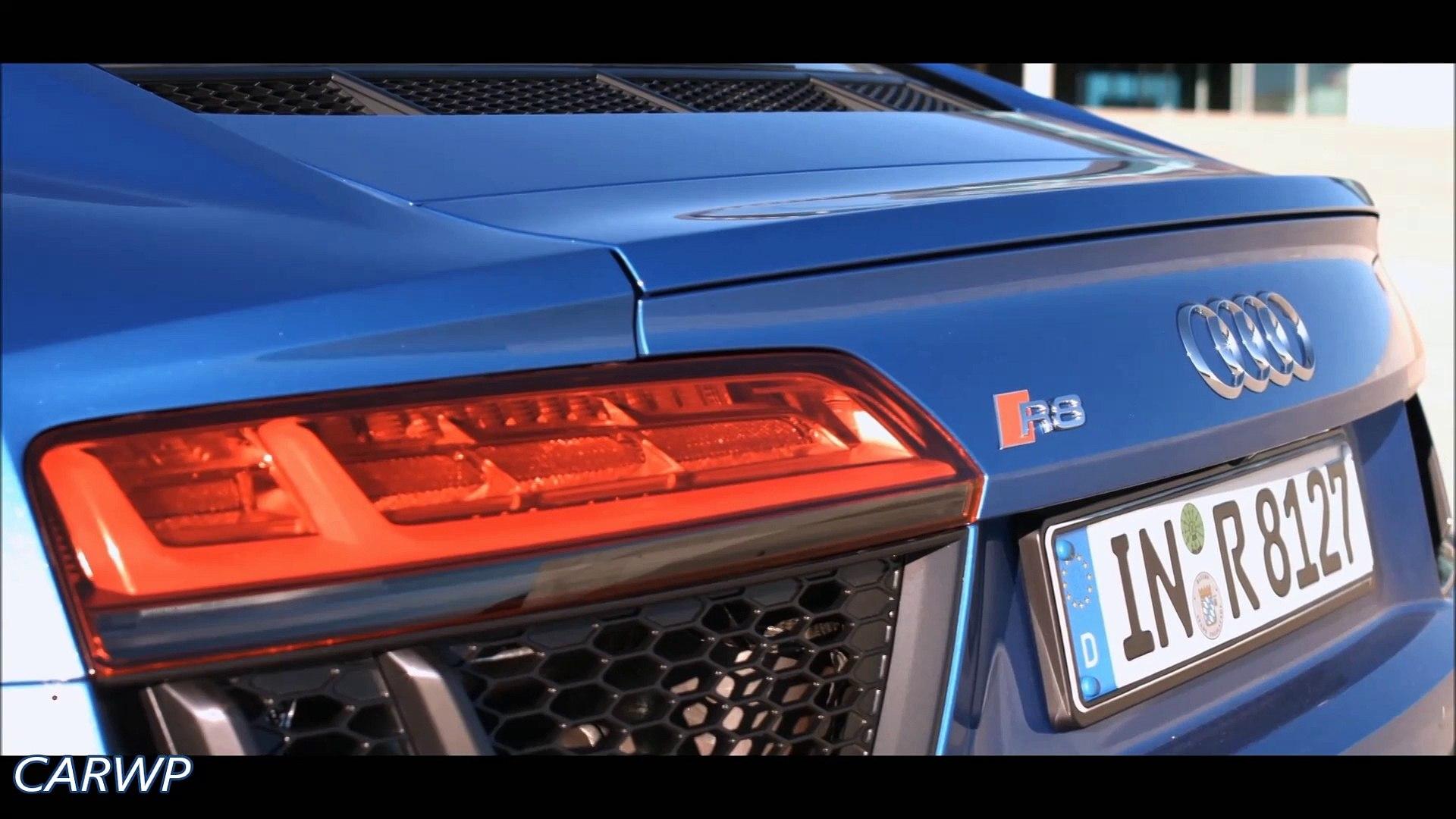 DESIGN €187.400 Novo Audi R8 V10 Plus 2016 4x4 aro 20 5.2 610 cv 57,1 mkgf 330 kmh 0-100 kmh 3,2 s @