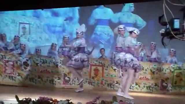 Гости. Guests - byelorussian dance (children group). Dance studio GLORIA. Minsk