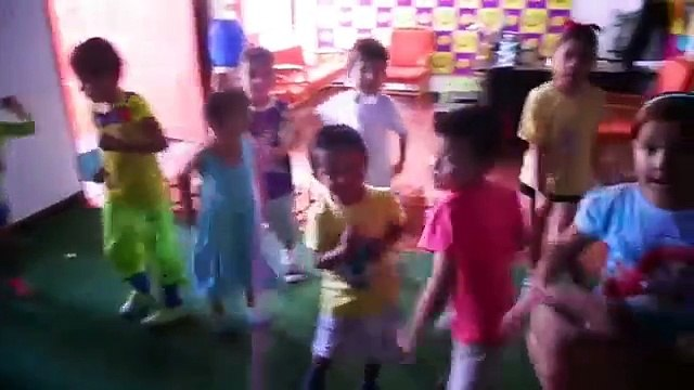 Stand Up, Sit Down Children's song (TEC Puyo)