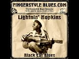 Lightnin' Hopkins - Black Cat Blues