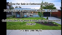 Cottonwood Heights Real Estate For Sale by Salt Lake City Real Estate Group Cottonwood Heights  7486 S 2135 E, Cottonwood Heights, UT 84121