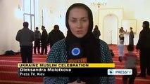Ukrainian Muslims celebrate birth of Prophet Mohammad