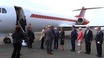 Koningspaar arriveert in St John's - Dutch royals arrive in St John's