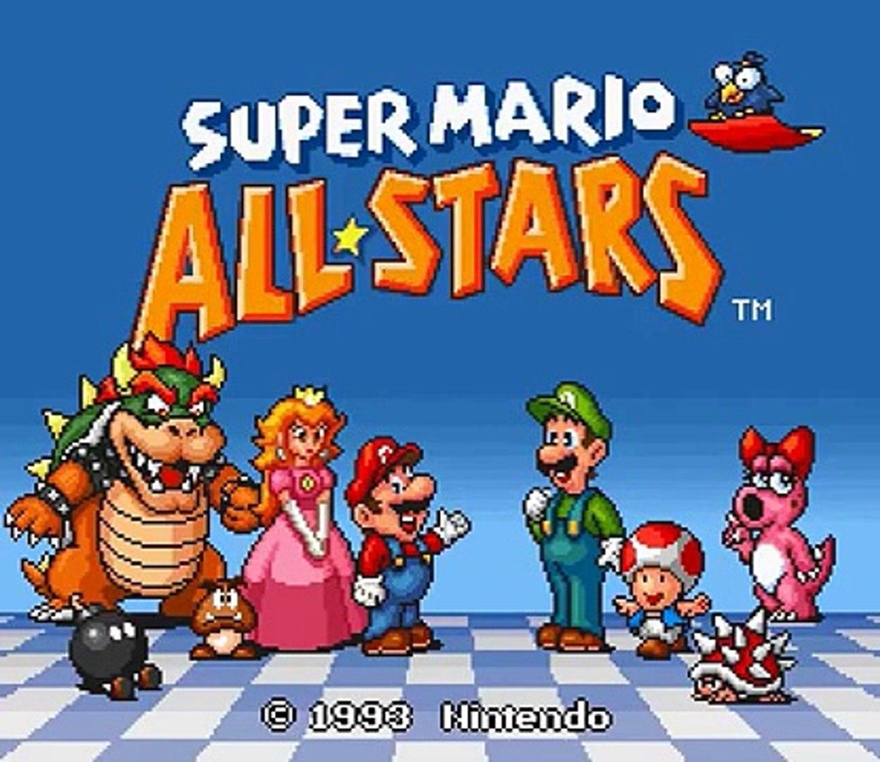 SNES Longplay [031] Super Mario All-Stars - Super Mario Bros