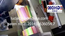 China packaging machine,high speed plastic straw automatic packaging machine factory price