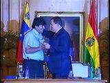 25 FEB 2013 Micro Hugo Chávez y Evo Morales: Hermanos de Lucha