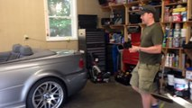 2006 BMW E46 Convertible Top Trouble going down