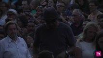 Yannick Noah a assisté au concert de Shy'm jeudi soir à la Cité avant le sien ce soir :