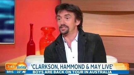 Richard Hammond tells Australia's Today programme he can't walk away from his Top Gear friends