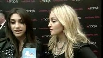 The Queen of Pop Madonna and Daughter Lourdes Macy's Event