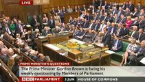 PMQs June 3rd, 2009 - Cameron vs Brown