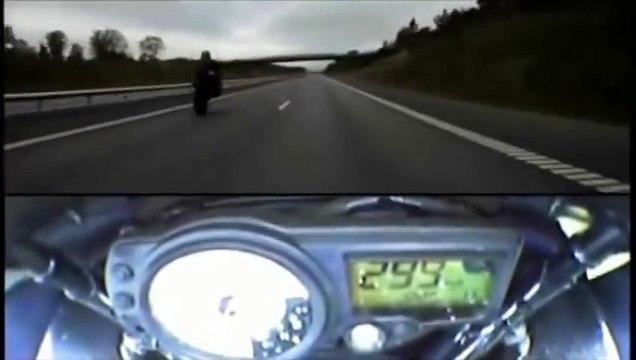 Das BESTE von Ghost Rider 666 (360 km/h auf der Autobahn, Polizeiverfolgungen   Stunts) ◄◄◄