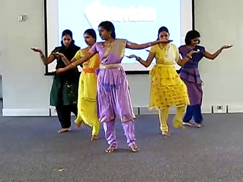 Indian classical fusion dance