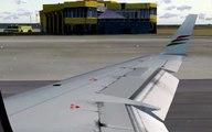 [FS2004] Palestinian Airlines Bombardier CRJ200 takeoff Tal Abib Airport