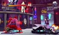 Ultra Street Fighter IV battle: Evil Ryu vs Oni