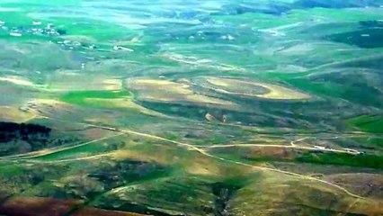 جمال بلادي الجزائر - ضواحي سطيف من الجو - Sétif vue du ciel