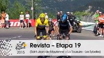 Revista - 2012, La Toussuire - Etapa 19 (Saint-Jean-de-Maurienne > La Toussuire - Les Sybelles) - Tour de France 2015