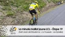 La minute maillot jaune LCL - Étape 19 (Saint-Jean-de-Maurienne > La Toussuire - Les Sybelles) - Tour de France 2015