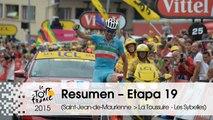 Resumen - Etapa 19 (Saint-Jean-de-Maurienne > La Toussuire - Les Sybelles) - Tour de France 2015