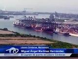 Lázaro Cárdenas, Mich.- Puerto de Lázaro Cárdenas. El de mayor profundidad en el país.