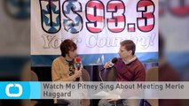 Watch Mo Pitney Sing About Meeting Merle Haggard
