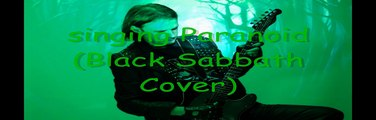 Korrosion1980 - Singing Guitar - Paranoid (Black Sabbath Cover)