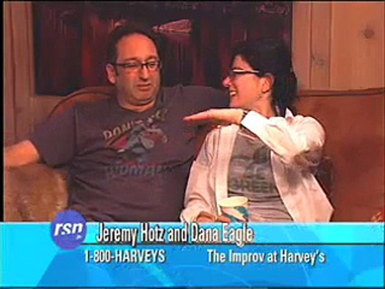 Comedians Jeremy Hotz & Dana Eagle on Howie's Late Night Rush