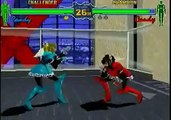 Fighting Vipers -Sega Saturn, AM2