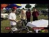 Cooking on balloon burner Bristol Balloon Fiesta 2006