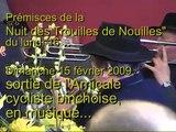 BINCHE - Carnaval 2009 - Sortie, en musique, de l'Amicale cycliste.