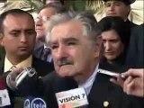 José Mujica mantuvo un encuentro con el presidente electo de Colombia, Juan Manuel Santos