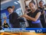 Actividades artísticas amenizan fiestas de Guayaquil