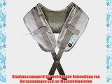 @tec Nackenmassageger?t Wellness Klopfmassage - Nacken- Schulter- und R?ckenmassage - 39 Massagevarianten