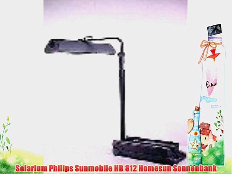 Wonderbaarlijk Solarium Philips Sunmobile HB 812 Homesun Sonnenbank - video SF-26