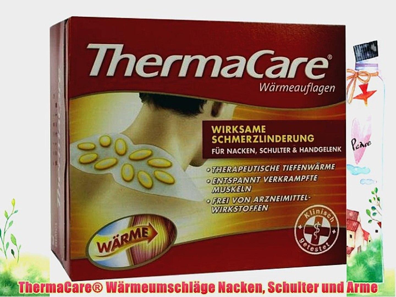 Thermacare Wrmeumschlge Nacken Schulter Und Arme