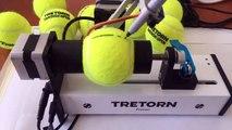 Tretorn robot lets tennis fans create their own signature tennis ball
