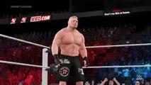 WWE World Heavyweight Championship Battlegroun Lesnar vs Rollins On Fantastic Videos
