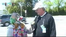 Yucko the Clown at The Masters PREVIEW