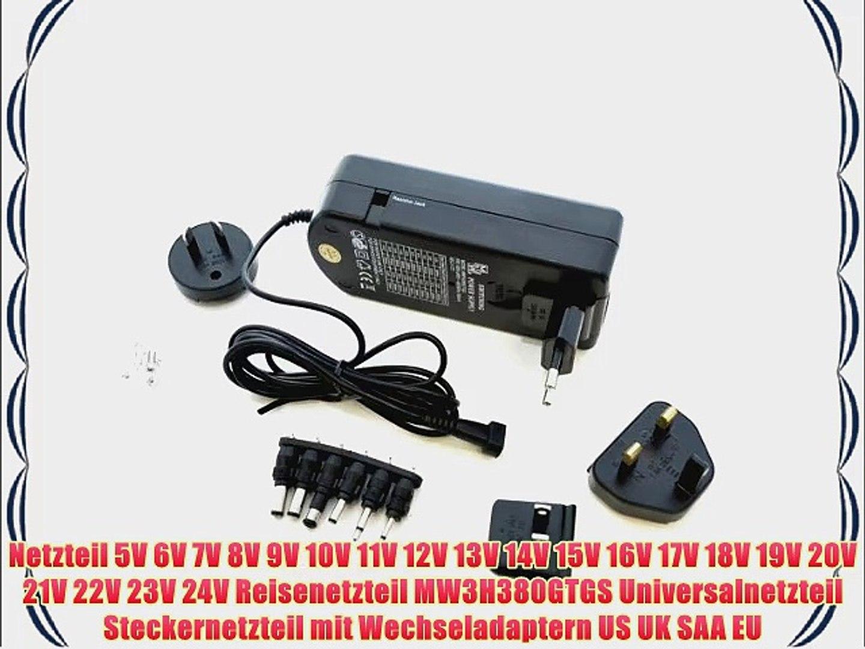 Universal Schaltnetzteil DC 9V 12V 13,5V 15V 18V 20V 24V