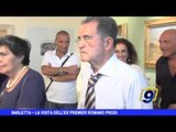BARLETTA | La visita dell'ex premier Romano Prodi